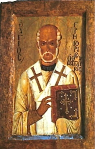 St. Gregory Thaumaturgos