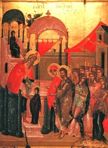 The Presentation of the Theotokos to the Temple