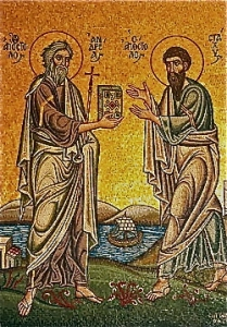 Sts. Andrew and Stachys
