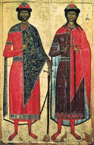 Sts. Boris and Gleb - Beloved Saints of the Russian Peoples